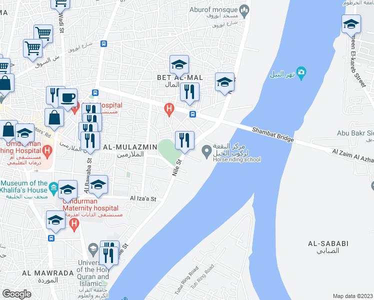 Nile Street Omdurman Khartoum Walk Score