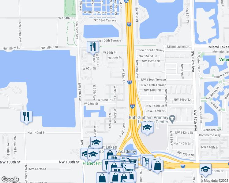 9271 West 33rd Lane Hialeah FL Walk Score