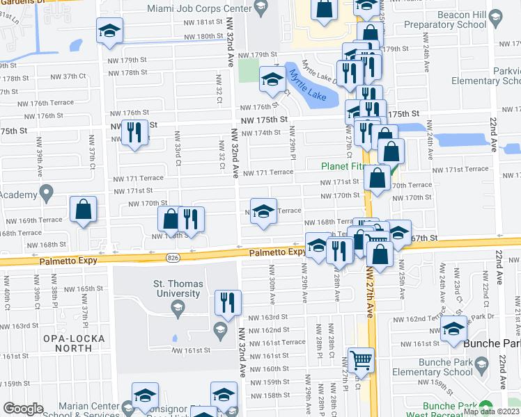 3051 Northwest 169th Terrace Miami Gardens FL Walk Score