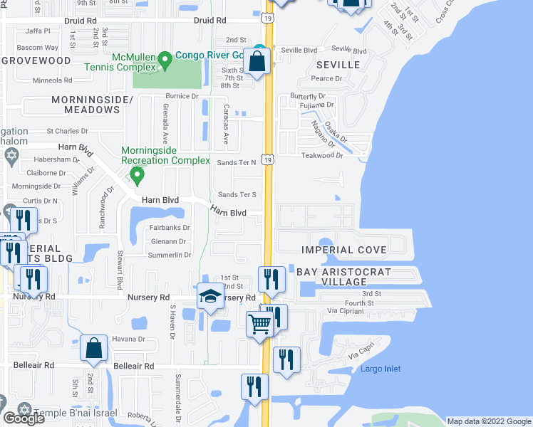 US 19 Harn Blvd Clearwater FL Walk Score