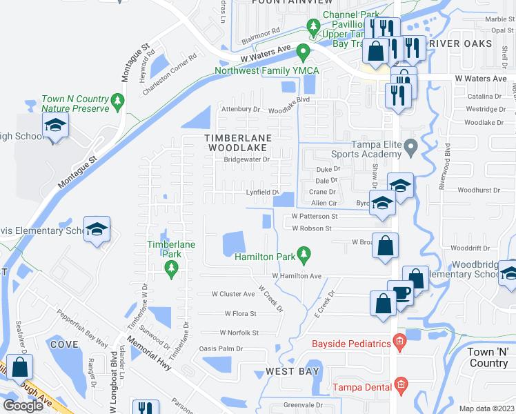 9710 Sunbury Court Town n Country FL Walk Score