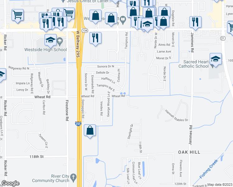 6904 Tampico Road South Jacksonville FL Walk Score