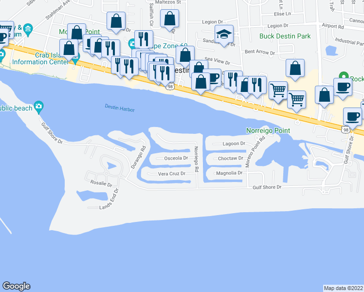 Try These Destin Florida Map Of Restaurants {Mahindra Racing}