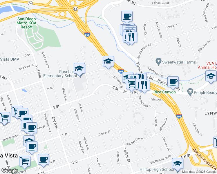 202 Richmond Park Place Chula Vista CA Walk Score