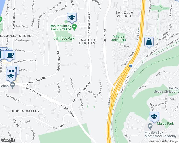 8070 La Jolla Scenic Drive North San Diego CA Walk Score