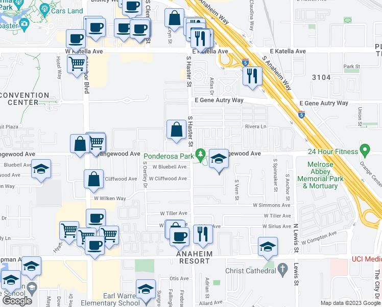 Haster Street West Orangewood Avenue Anaheim CA Walk Score