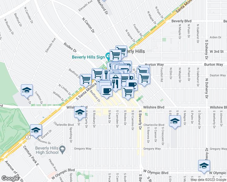 400 North Rodeo Drive Beverly Hills CA Walk Score