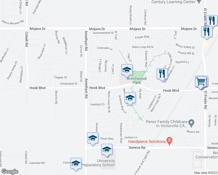 Hook Blvd Reno Loop Rd W Victorville CA Walk Score