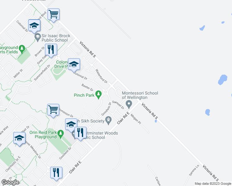 Oldfield Drive Guelph ON Walk Score