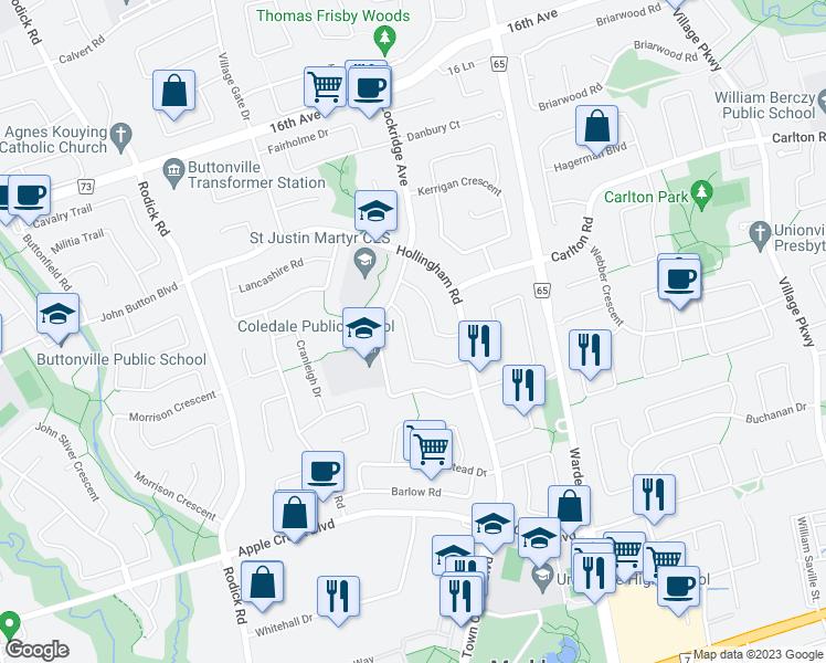 41 Loweswater Avenue Markham ON Walk Score
