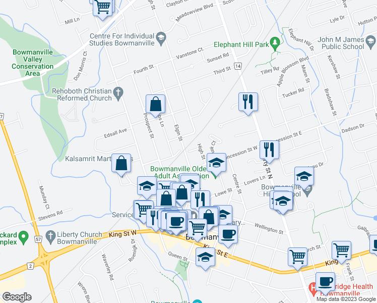4 ODell Street Bowmanville ON Walk Score