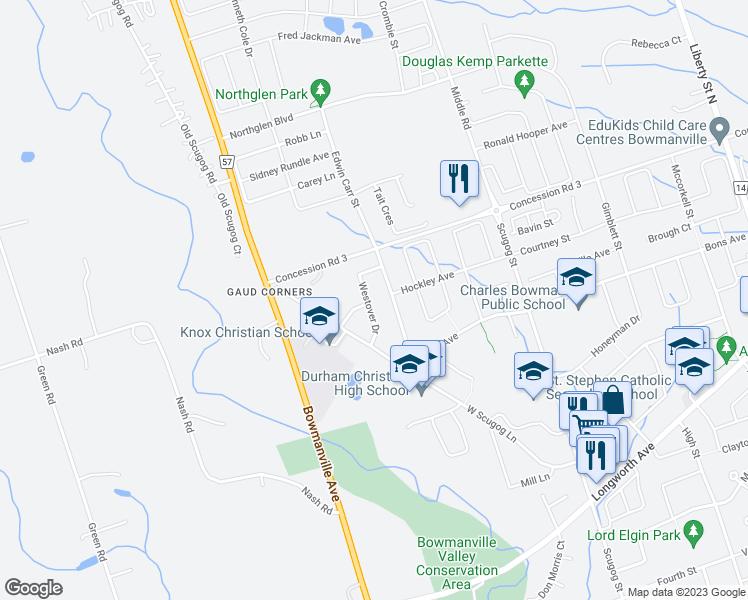65 Westover Drive Bowmanville ON Walk Score