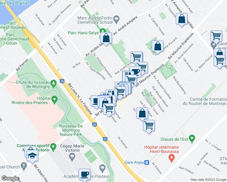 12052 Avenue Pierre Blanchet Montral QC Walk Score
