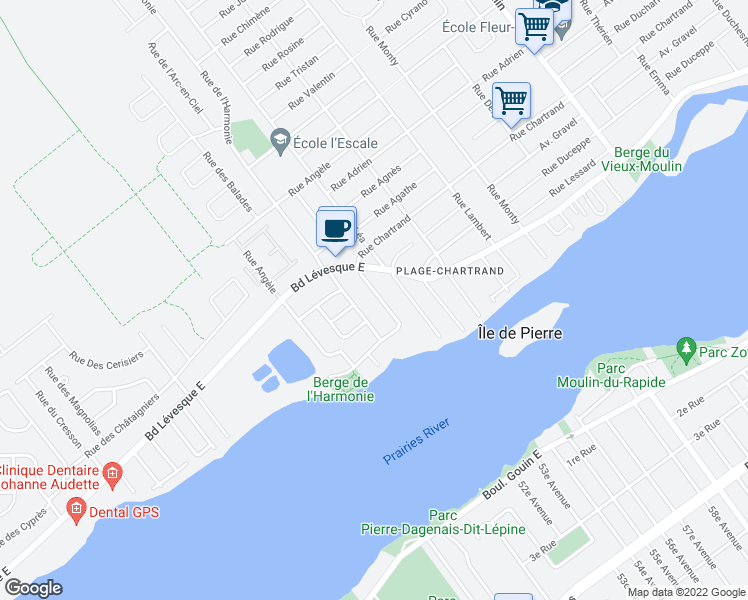 320 Rue du Canada Laval QC Walk Score