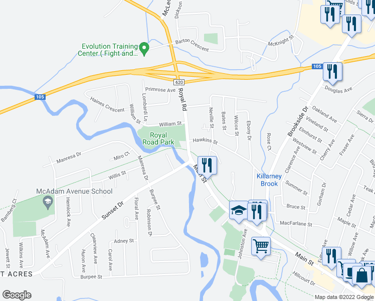 25 Northside Trail Fredericton NB Walk Score