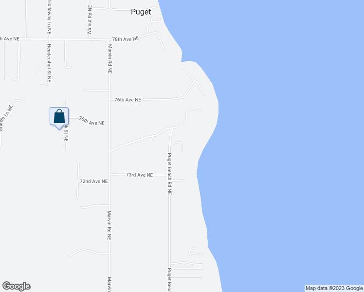 7410 Puget Beach Road Northeast Olympia WA Walk Score