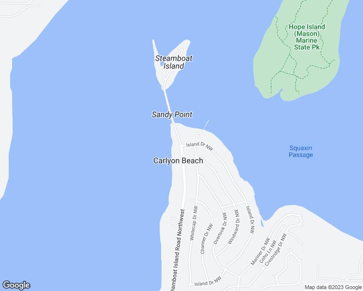 Steamboat Island Road Northwest Island Dr NW Olympia WA Walk Score