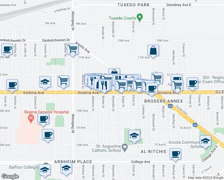 600 Victoria Avenue Regina SK Walk Score