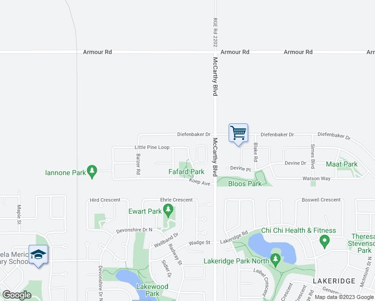 5924 Little Pine Loop Regina SK Walk Score