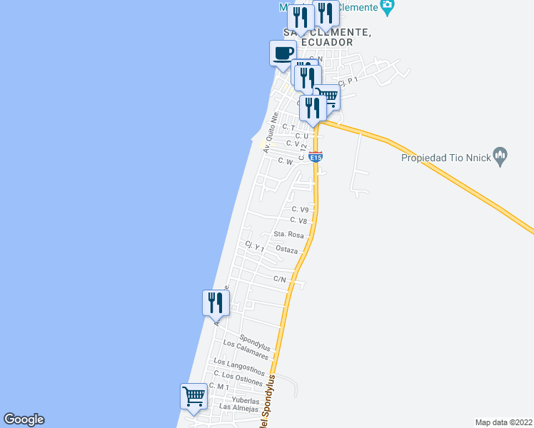 map of restaurants, bars, coffee shops, grocery stores, and more near Calle Arena Blanca in San Jacinto
