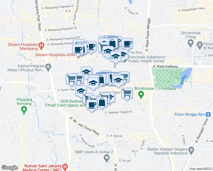 Jalan Gajah Mungkur Kota Jakarta Selatan Daerah Khusus Ibukota