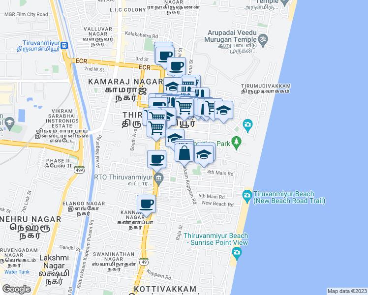 Kottivakkam Kuppam Road, Chennai TN - Walk Score