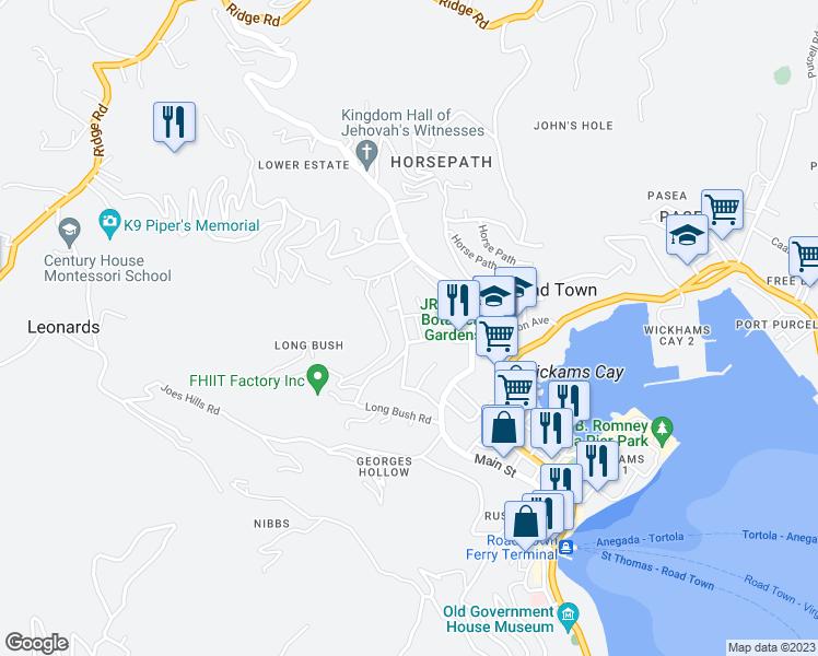 Lower Estate Road Road Town Tortola Walk Score