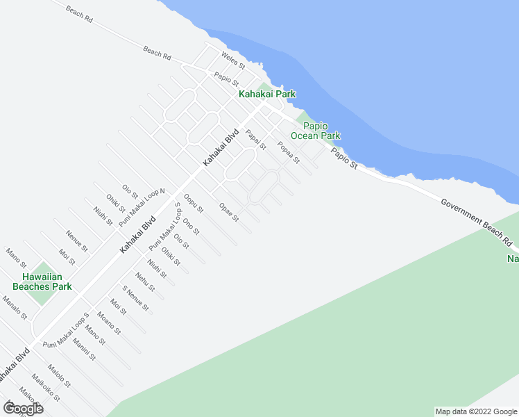 map of restaurants, bars, coffee shops, grocery stores, and more near 15-2811 Opakapaka Street in Pāhoa