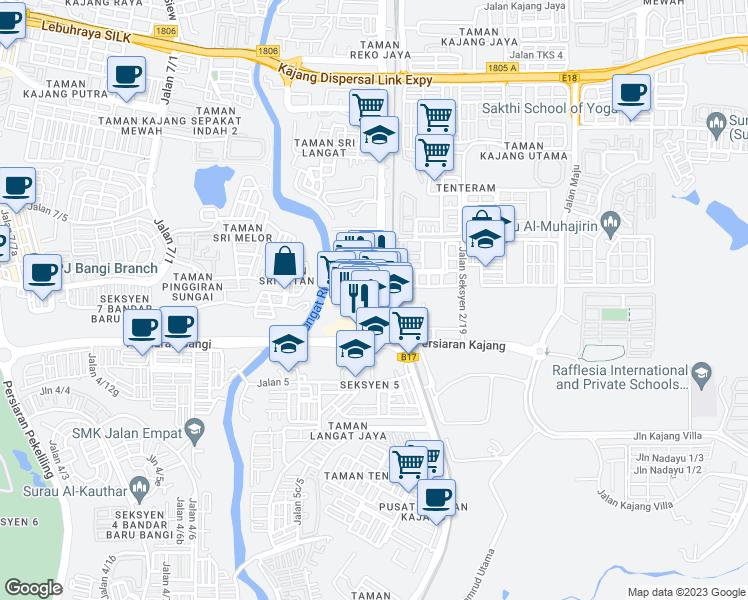 Jalan Reko Sentral 6, Kajang Selangor - Walk Score