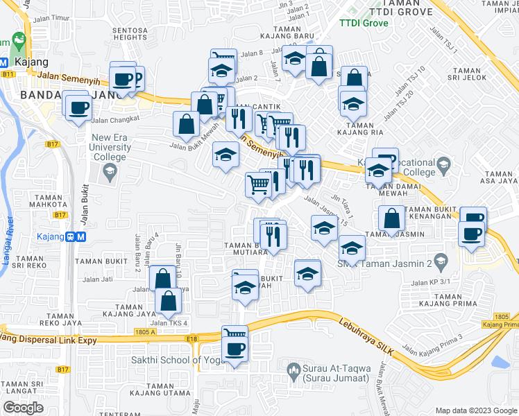 Jalan Bukit Mutiara, Kajang Selangor - Walk Score