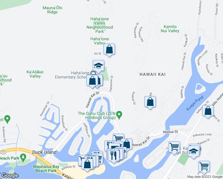 Mauna Luan, East Honolulu HI - Walk Score