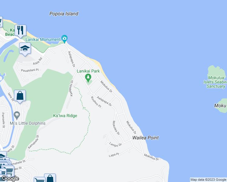 1112 Mokulua Drive Kailua Hi Walk Score