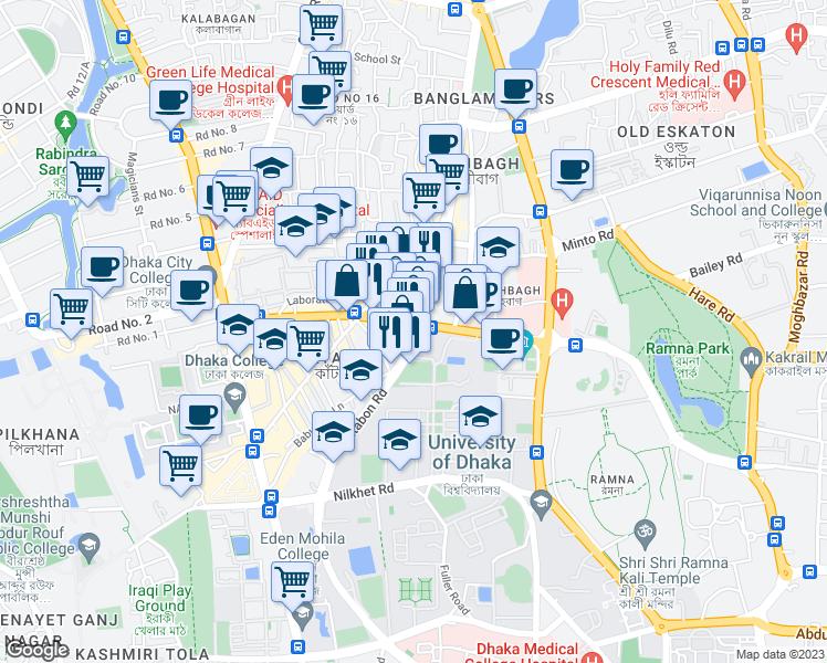 Dhaka 1205 Area