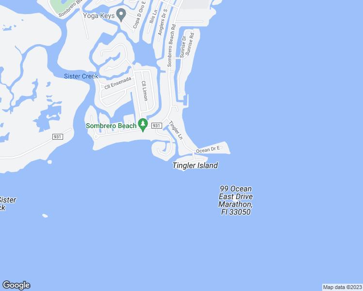 Marathon Florida Map.69 Tingler Ln Marathon Fl Walk Score