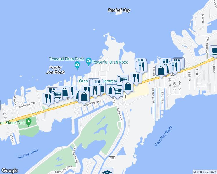 Marathon Florida Map.5151 Loggerhead Lane Marathon Fl Walk Score