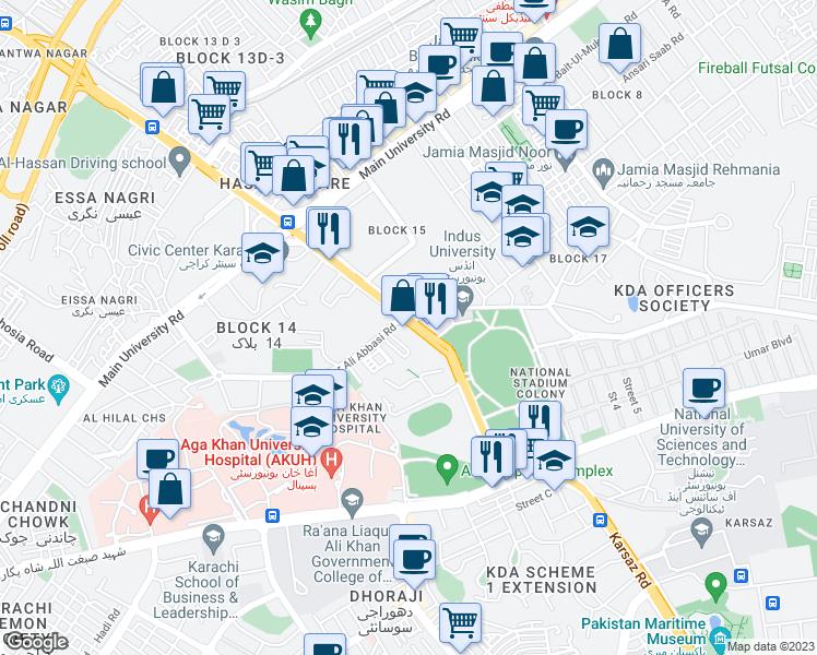 Civic Center Flyover, Karachi Sindh - Walk Score