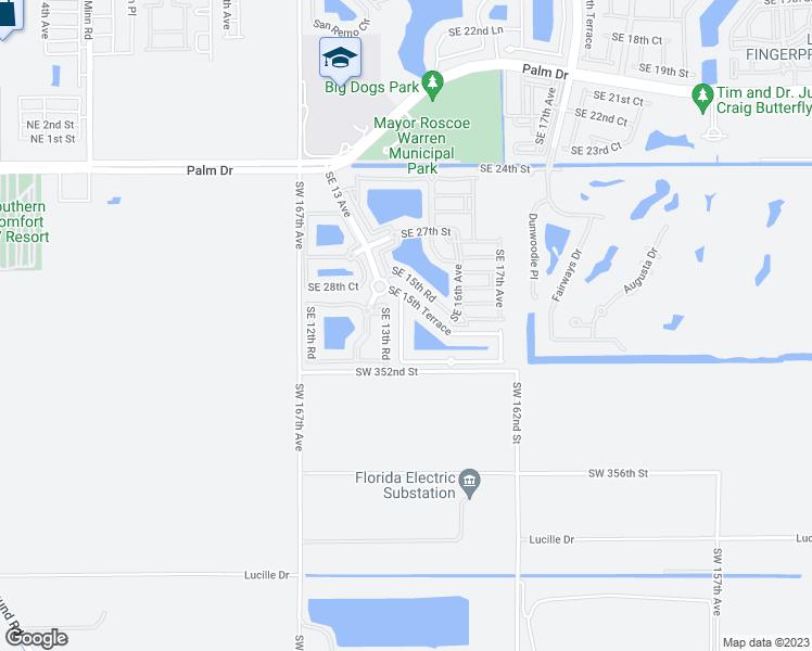 Map Homestead Florida.2967 Southeast 15th Avenue Homestead Fl Walk Score