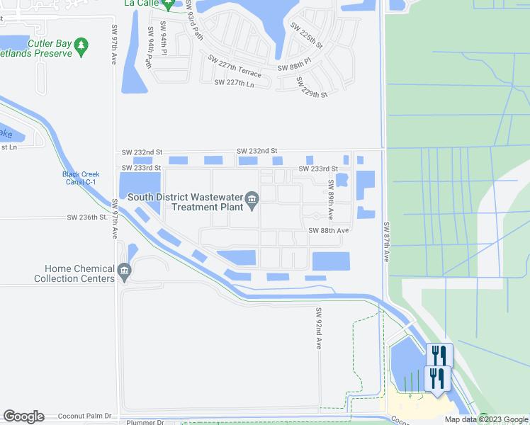 Map Homestead Florida.23300 Southwest 88th Avenue Homestead Fl Walk Score