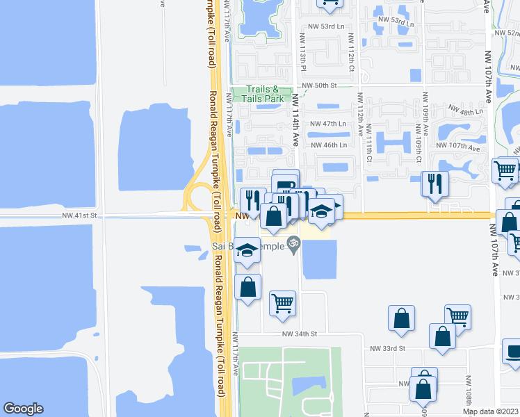 11451 Lakeside Drive, Doral FL - Walk Score on