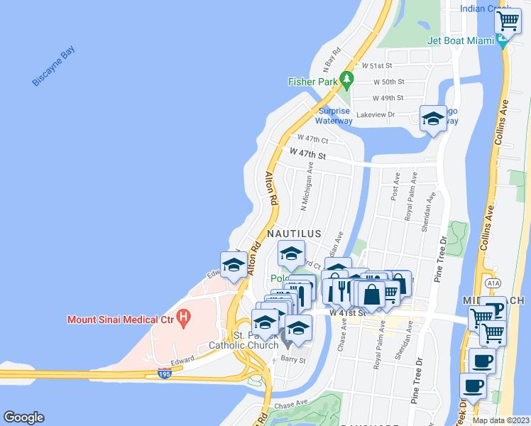 Bay Rd Miami How Far To The Beach