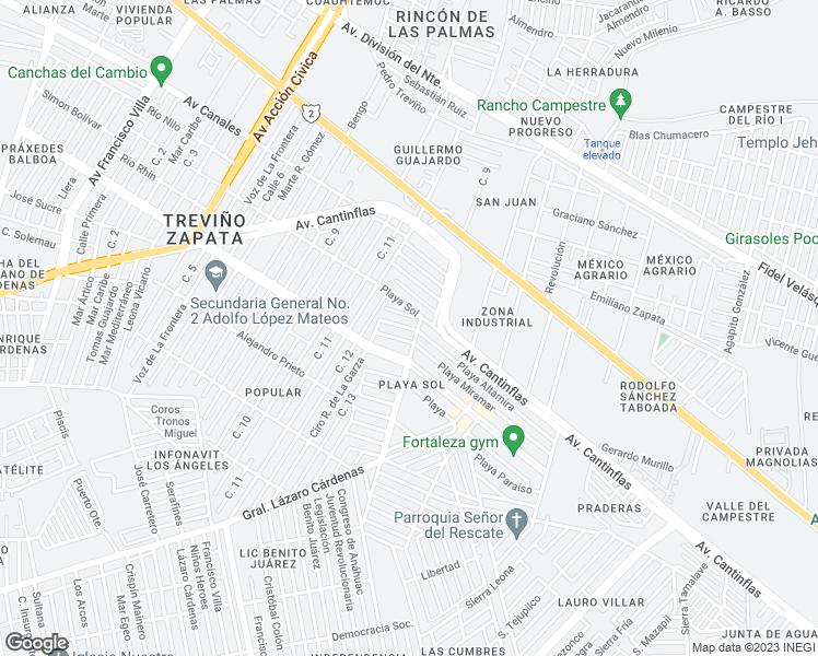 Altamira Mexico Map.24 Playa Altamira Matamoros Tamps Walk Score