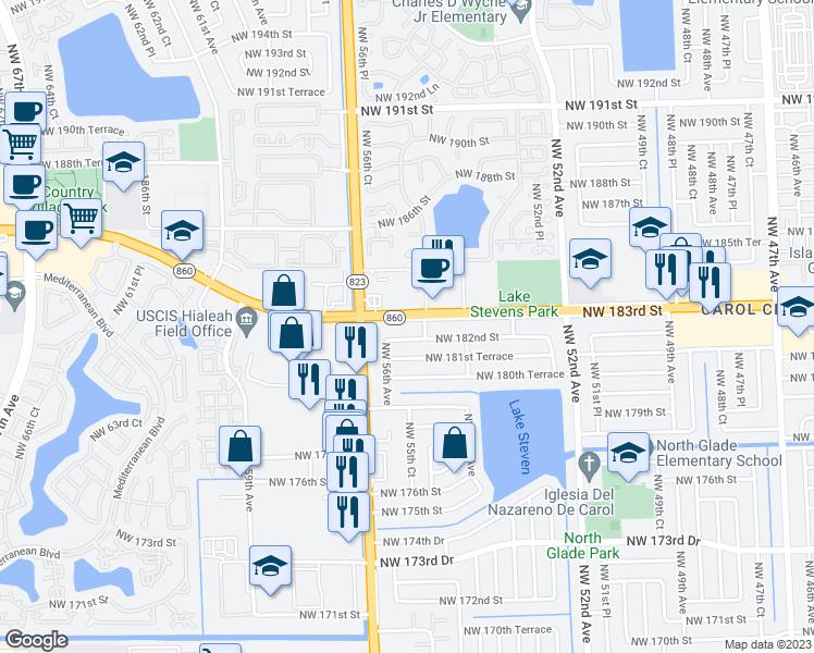 Restaurants Rd Street North Miami