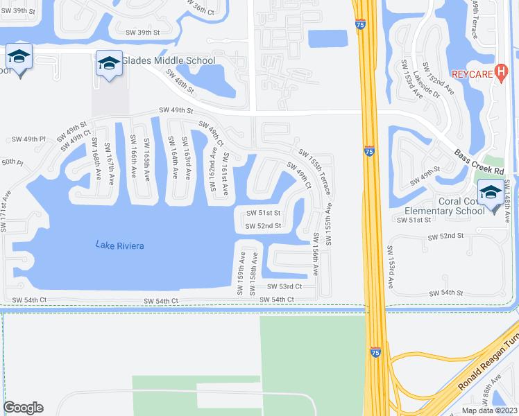 Map Of Miramar Florida.15855 Southwest 51st Street Miramar Fl Walk Score