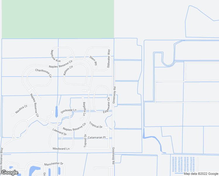 map of restaurants, bars, coffee shops, grocery stores, and more near 14639 Edgewater Circle in Naples