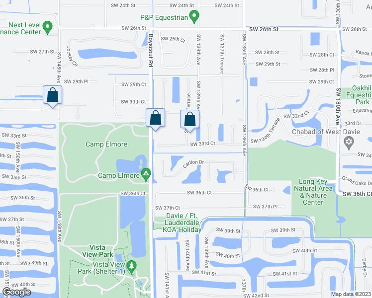 Davie Florida Map.13980 Southwest 33rd Court Davie Fl Walk Score