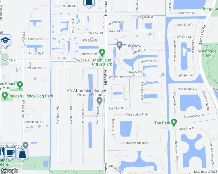 2851 Southwest 111th Terrace, Davie FL - Walk Score on
