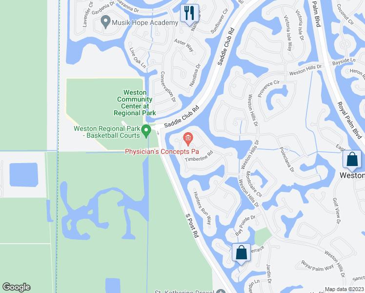 Weston Florida Map.2171 Quail Roost Drive Weston Fl Walk Score
