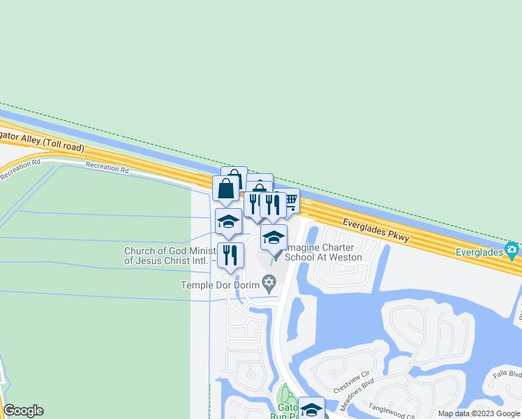 Weston Florida Map.2900 Glades Circle Weston Fl Walk Score