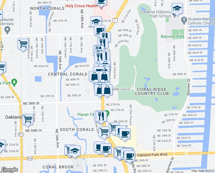 2050 Northeast 39th Street Fort Lauderdale Fl Walk Score