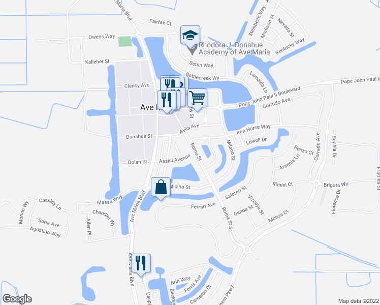 Ave Maria Florida Map.5135 Roma Street South Ave Maria Fl Walk Score